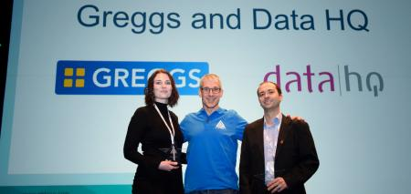 Greggs and Data HQ win 2017 Apteco Award