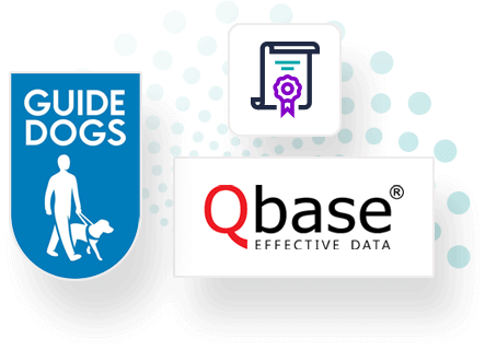 Guide Dogs & Qbase Direct